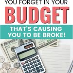 Budgeting Categories You Probably Forgot About