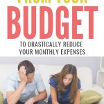 15 Things To Cut From Your Budget to reduce monthly expenses