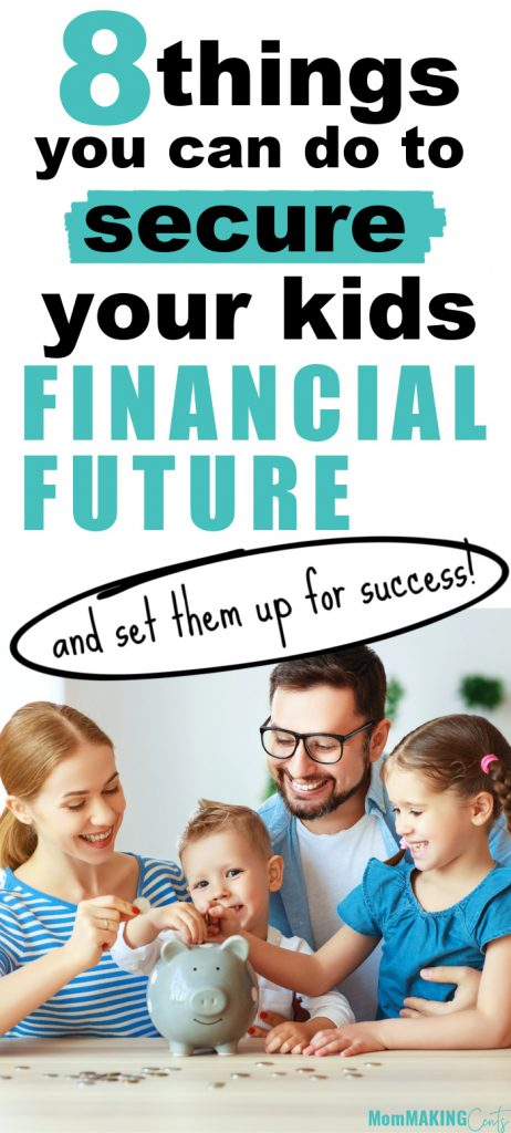 how to set your kids up for financial success.