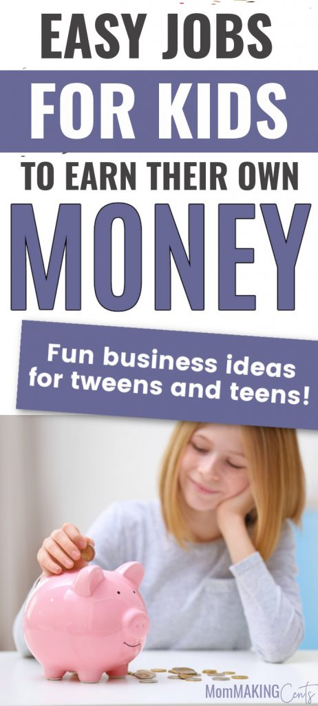Easy Jobs For Kids To Earn Their Own Money